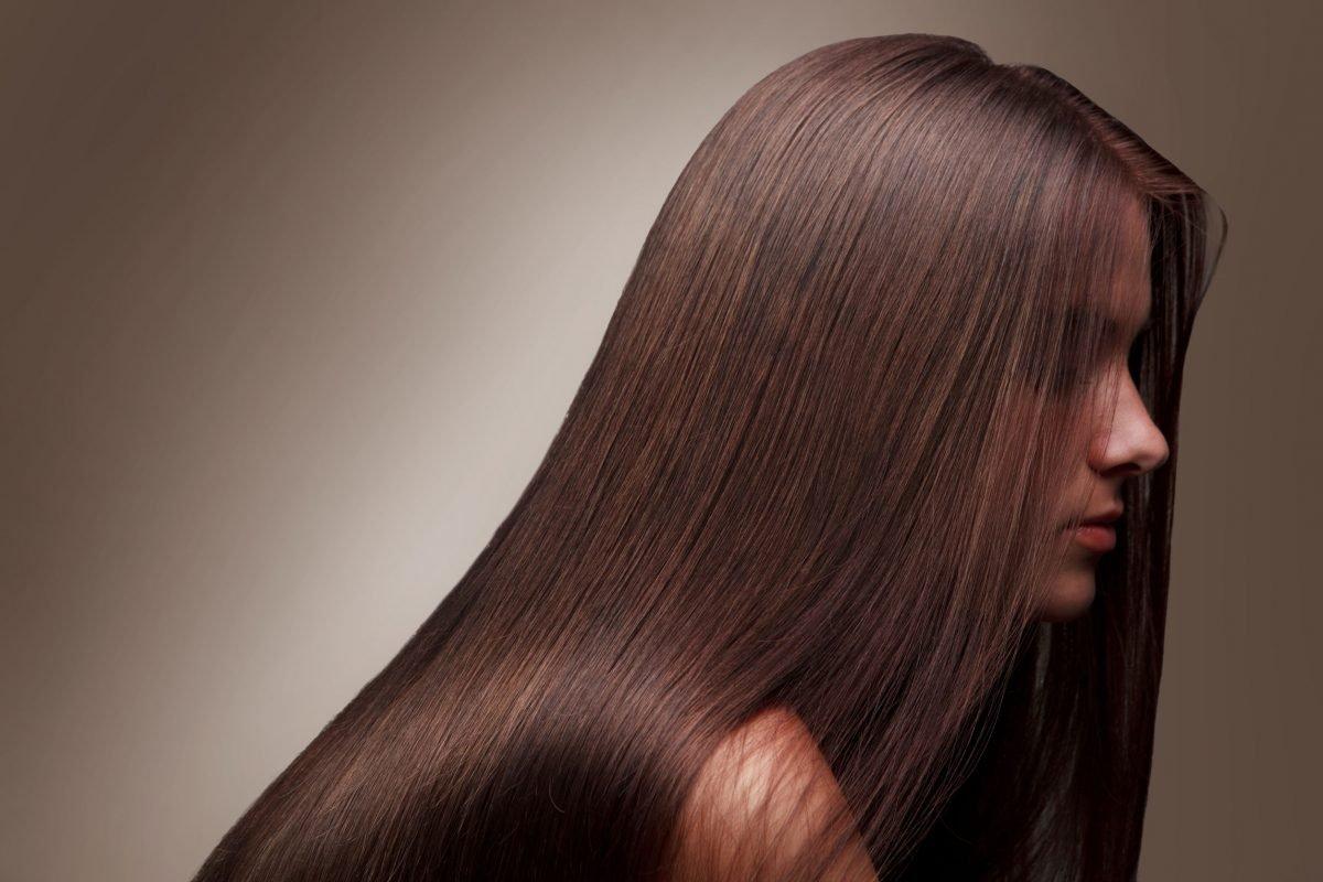 Žena sa prelepom kosom